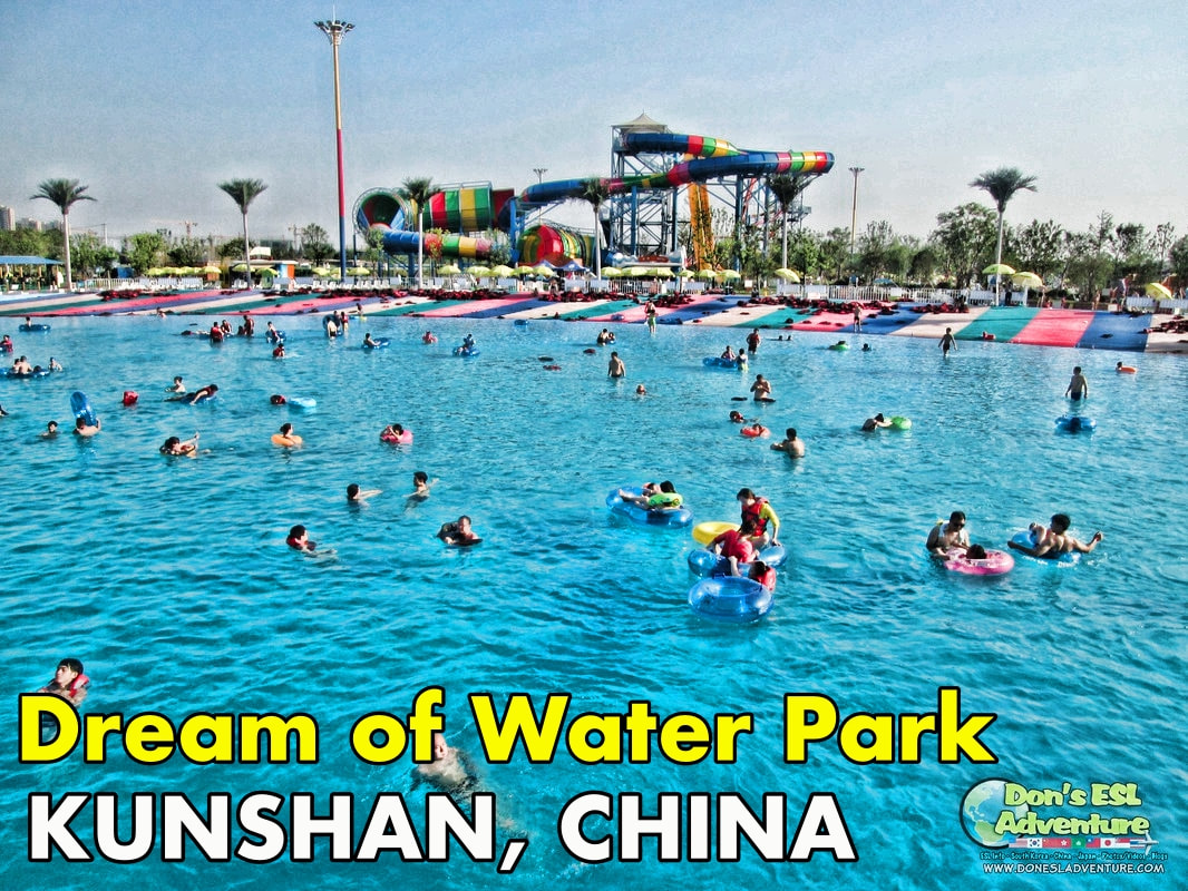 Drenched in Water at Dream of Water Park in Bacheng, China | Summertime Fun in Kunshan