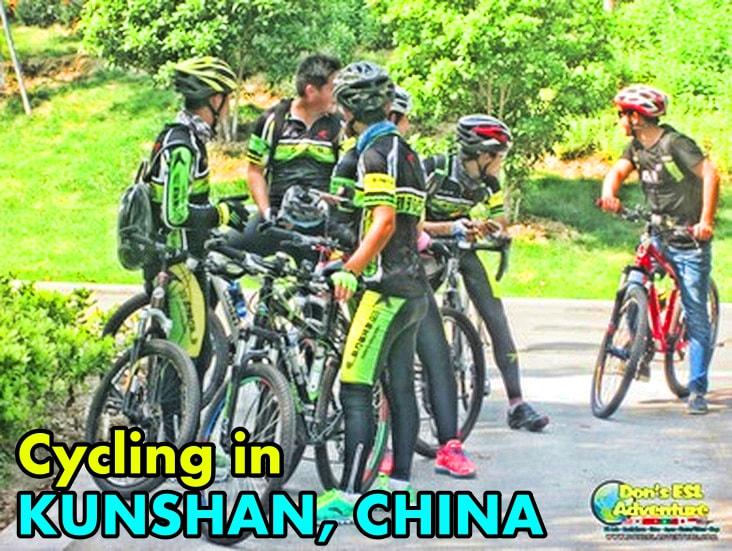 Cycling in Kunshan | Things to Do in Kunshan, China | Don's ESL Adventure!