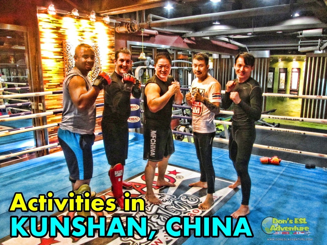 MMA Class in Kunshan | Things to Do in Kunshan, China | Don's ESL Adventure!