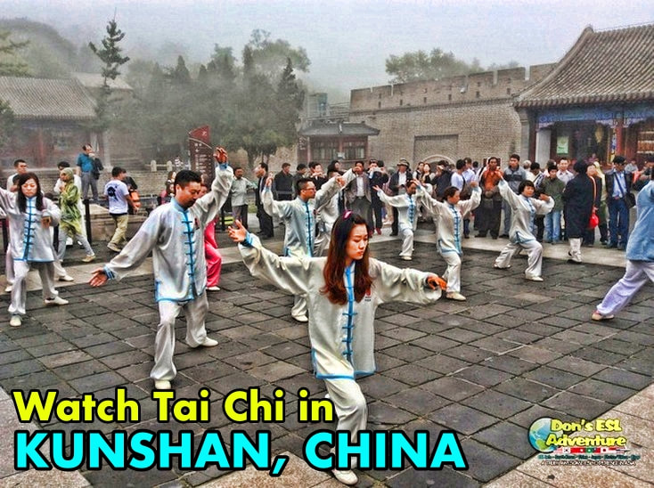 Where to Watch Tai-Chi in Kunshan, China? | Things to Do in Kunshan | Don's ESL Adventure!