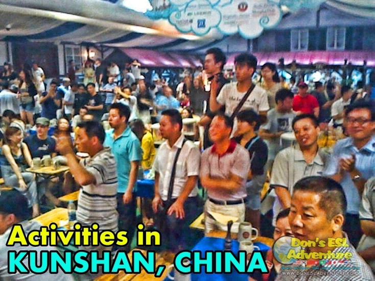 What's Up With Oktober Fest in Kunshan? | Things to Do in Kunshan, China | Don's ESL Adventure!