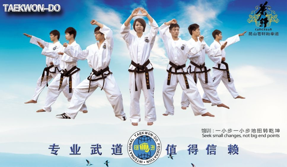Advertisement: Join Cangxuan Taekwondo Club in Kunshan, China | Don's ESL Adventure!