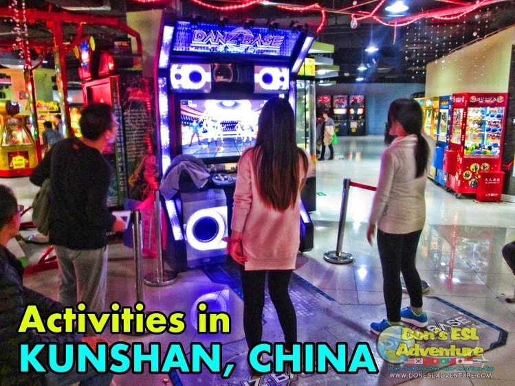 Arcades in Kunshan | Things to Do in Kunshan, China | Don's ESL Adventure!