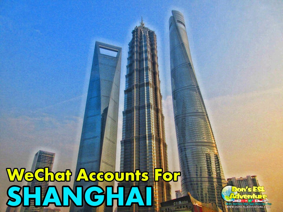 Kunshan Expats: 6 Must Have WeChat Official Subscription Accounts For Any & Everything Shanghai! | Don's ESL Adventure!