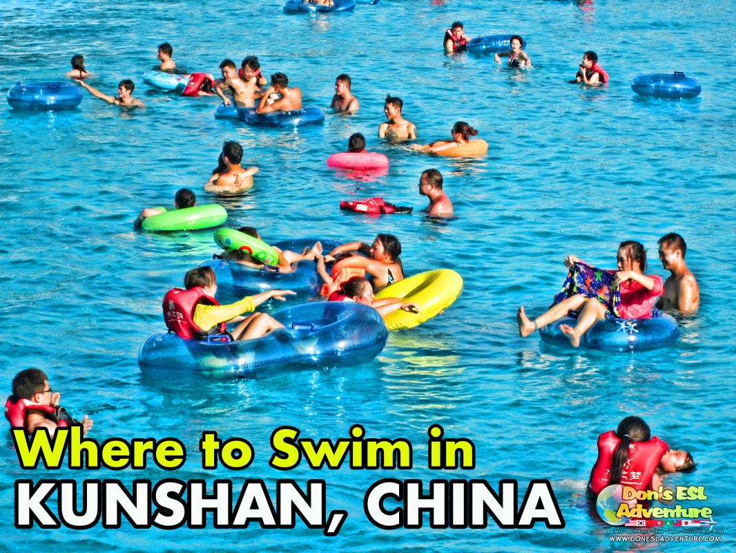Swimming in Kunshan, China | Things to Do in Kunshan | Don's ESL Adventure!