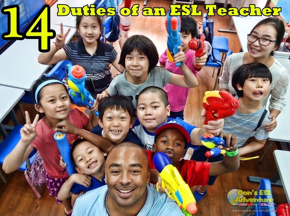teaching english abroad 14 duties of an esl teacher - Esl Teacher Duties