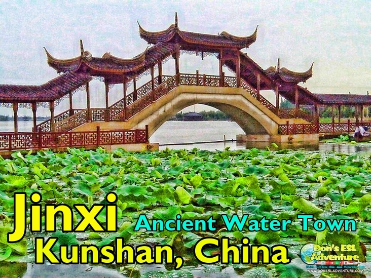 The Beautiful Jinxi Ancient Water Town in Kunshan | Things to Do in Kunshan, China | Don's ESL Adventure!