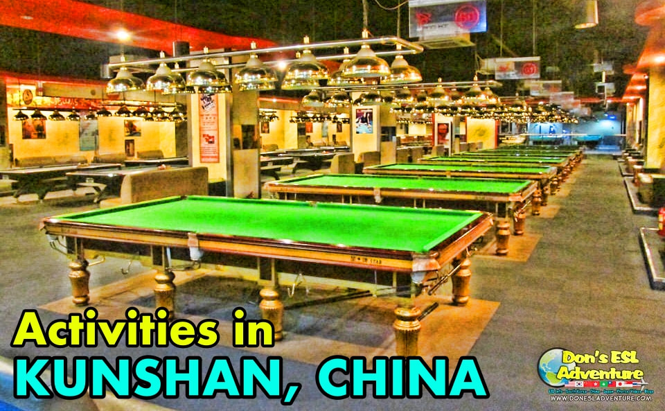 Billiards: Pool & Snooker in Kunshan | Things to Do in Kunshan, China | Don's ESL Adventure!