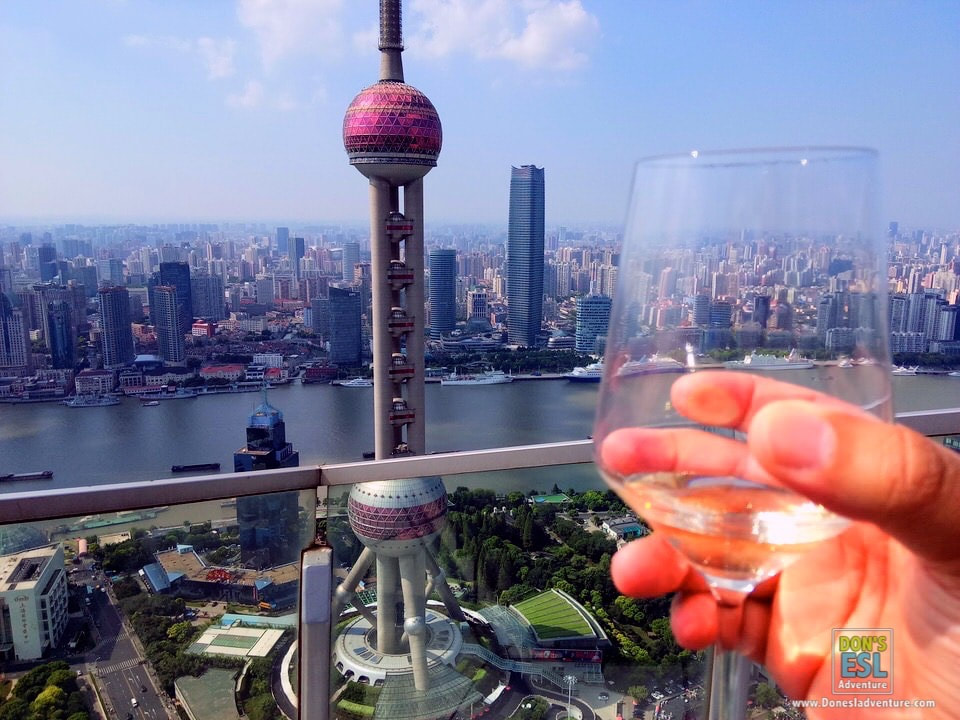 Inside the Observation Deck of One of China's Most Iconic Landmarks: Shanghai's Oriental Pearl Radio & TV Tower | Don's ESL Adventure!