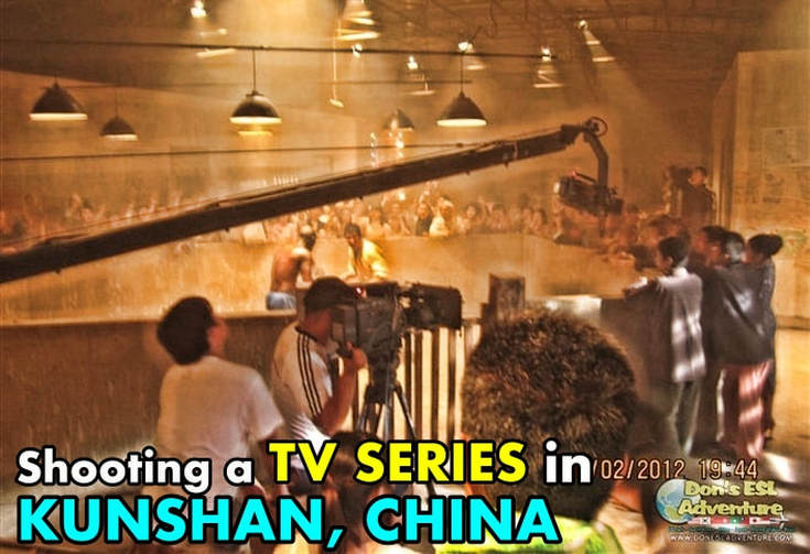Shooting a TV Series in Kunshan, China! | Don's ESL Adventure!