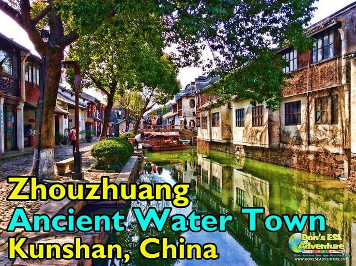 Exploring The Beautiful Zhouzhuang Ancient Water Town in Kunshan, China | Things to Do in Kunshan | Don's ESL Adventure!