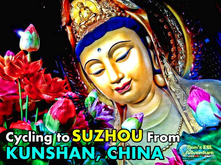 Must See If You Live in Kunshan: A Ridiculously Huge & Awesome Buddhist Statue Hidden Within Chongyuan Temple in Suzhou, China! | Don's ESL Adventure!