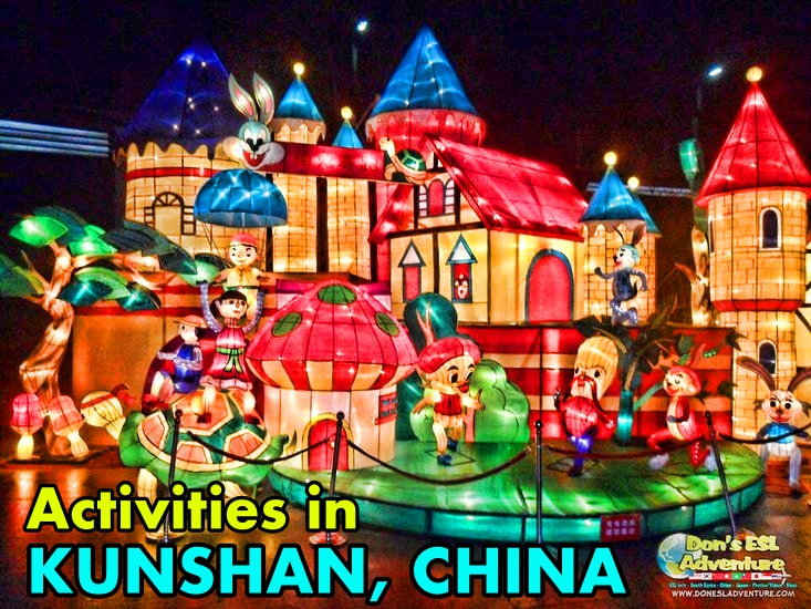 Catching the Mid-Lantern Festival in Kunshan, China | Things to Do in Kunshan | Don's ESL Adventure!
